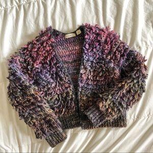 Anthropologie fun shabby sweater